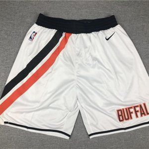 New Men's Los Angeles Clippers White Retro Shorts